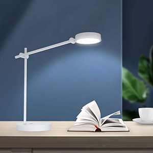 SANSI LED Desk Lamp, Eye-Caring Blue Light Blocking UL Verified RG0 Table Lamps, 10W 4 Lighting Modes with 6 Brightness Levels Dimmable Home Office Desk Light, Touch Control, Memory Function