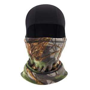 IIY Drawstring Balaclava Face Mask Drawstring Face Cover Windproof Breathable Ski Mask for Men Women Cycling Skiing Outdoors