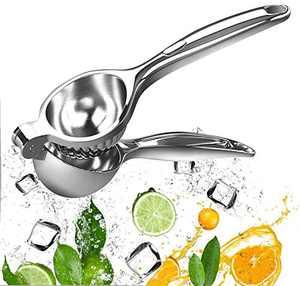 EverWin Lemon Lime Squeezer - Lemon Lime Juicer Hand Press, Hand Manual Citrus Press Juicer Squeezer Stainless Steel, Handheld Lemon Lime Squeezer Juicer, Citrus Juice Squeezer Handheld