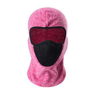 Toplor Face Balaclava Scarf Neck Warmer - Thermal Full Face Mask/Winter Windproof Neck Gaiter with Drawstring/Hood Masks