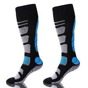 Ski Socks Merino Wool Thermal Knee High Winter Snowboard Sport Socks Men Women, Hunting