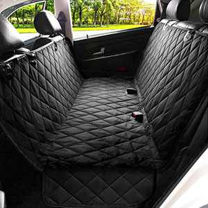 Kytely Upgraded Dog Car Seat Cover Pet Seat Covers for Back Seat, Scratch Proof & Nonslip Backing & Hammock, 600D Heavy Duty Dog Seat Cover for Cars, Trucks and Suvs