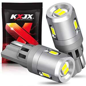 KXJX 194 LED Bulb Extremely Bright 6000K White 168 T10 2825 W5W for Car Dome Map Door Courtesy License Plate Lights