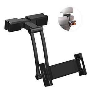 "CG CARGOOL Car Headrest Mount, Car Tablet Phone Holder, Angle Adjustable Headrest Tablet Mount, Universal Tablet Holder for Car Backseat, for 5.2"" to 10.4"" iPad/Tablet/Smartphone/Nintendo Switch"