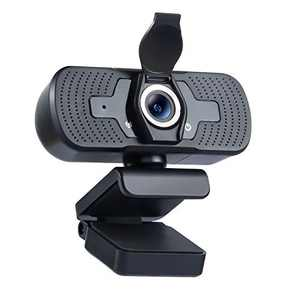 Webcam with Privacy Cover, 1080P Computer Web Camera with Microphone, Desktop Laptop Mac HD Camera, Plug and Play, for Live Stream/Online Classes/Conference/Gaming, Skype/Zoom/YouTube/Facetime