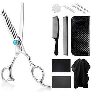 PANDINUS IMPERATOR Hair Cutting Shears Thinning Shears11 Pcs Professional Teeth Shear Hairdressing Shears Kit for Barber,Salon,Home,Kids,Adult