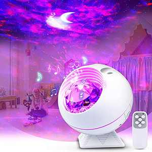 Galaxy Projector for Bedroom Skylight Star Projector Night Light for Kids Nebula Ocean Wave/Moon and Cloud/Star Laser Lamp Ceiling Starlight Projector with Remote Control Gift for Kids/Adults/Birthday