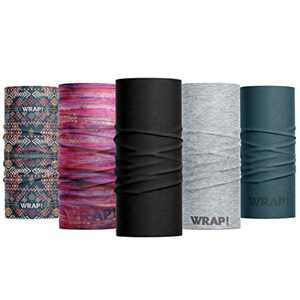 Wild Wrap! Multipurpose Neck Gaiter, Face Mask for Men and Woman (Lady Wrap)