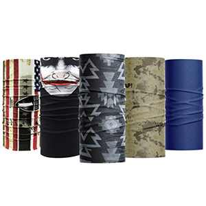 Wild Wrap! Multipurpose Neck Gaiter, Face Mask for Men and Woman (Male Prime)