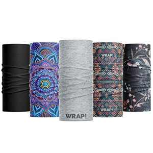 Wild Wrap! Multipurpose Neck Gaiter, Face Mask for Men and Woman (Best Sellers)