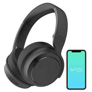 Wyze Noise-Cancelling Headphones, Wireless Over The Ear Bluetooth Headphones with Active Noise Cancellation, High-Fidelity Sound, Transparency Mode, Clear Voice Pick-up, Alexa Built-in¡