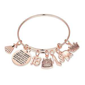 18th Birthday Gifts for Girls, Sweet 18 Gifts for Teen Girl Turning 18 Fabulous Birthday Gifts Bday Present Bracelet 18 Year Old Girl Gifts for Birthday Graduation You are Braver than You Believe