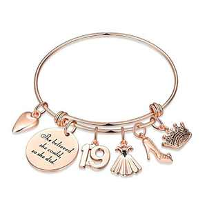 19th Birthday Gifts for Girls, Sweet 19 Gifts for Teen Girl Turning 19 Fabulous Birthday Gifts Bday Present Bracelet 19 Year Old Girl Gifts for Birthday Women Friends Female Inspirational Graduation