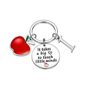 Teacher Gifts for Women, Teacher Keychain Gifts for Teacher from Students(I)