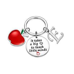 Teacher Gifts for Women, Teacher Keychain Thanksgiving Teacher Gifts from Students(E)