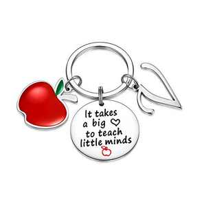 Teacher Gifts for Women, Teacher Keychain Gifts for Teacher from Students(V)