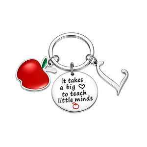Teacher Gifts for Women, Teacher Keychain Thank you Gifts for Teacher(L)