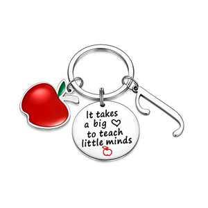 Teacher Gifts for Women, Teacher Keychain Cute Teacher Gifts from Students(J)