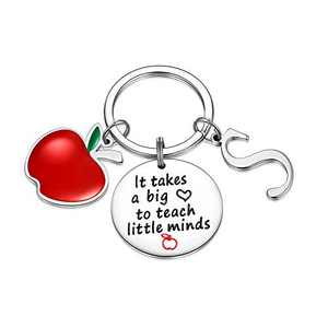 Teacher Gifts for Women, Teacher Keychain Gifts from Students for Thanksgiving(S)