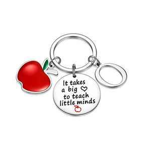Teacher Gifts for Women, Teacher Keychain Housekeeping Week Gifts for Women(O)