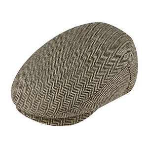 MIX BROWN Newsboy Hat