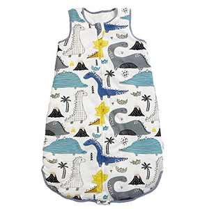 Baby Sleep Sack- Sleep Bag,2.5 TOG,Wearable Blanket,100% Cotton,Quilted Winter Model,3-12 Months. 29.5""