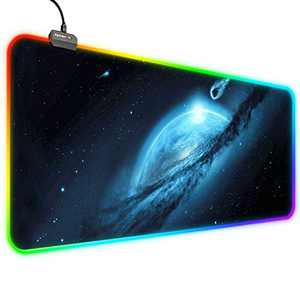RGB Mouse Pad, Zpose Led Mouse Pad, Gaming Mouse Pad, Large Gaming Mouse Pad, Gaming Mousepad, Large Mouse Pad Gaming, Mouse Pad Gaming, 14 Lighting Modes, RGB Mouse Pad, Gaming Mouse Pad, 31.5x11.8In