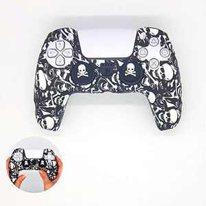 LoMas PS5 Controller Skins   Joystick Silicone Cover Protector Case, Playstation 5 Skins Console with Ps5 Thumb Grips, Anti Slip Design Controller Cover, Free Odor (Rock It)