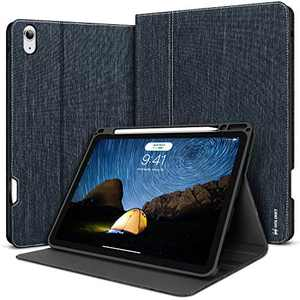 iPad Air 4th Generation Case 2020 iPad 10.9 inch Case with Pencil Holder Smart Cover Auto Wake/Sleep
