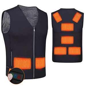 Heated Vest for Men Women,YOYI Smart Electric Warm Vest,Battery Not Included