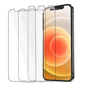 [3 Pack] for iPhone 12 Pro Max Screen Protector Tempered Glass [HD Clear] [Bubble-Free] [Anti-Scratch] [Case Friendly] for iPhone 12 Pro Max 5G (6.7 inch 2020) Clear