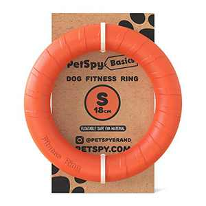 Dog Training Ring Fitness Tool Flying and Floatable Disc Interactive Pet Toy for Small Medium Large Dogs