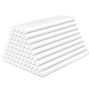 White Hot Glue Sticks Mini, Enpoint 72 pcs 3.93 x 0.27 in Hot Melt Glue Adhesive EVA Sticks, White Mini Glue Sticks for Arts Crafts, DIY, Home General Repair, Holiday Gift Crafts, Bonding, Decoration