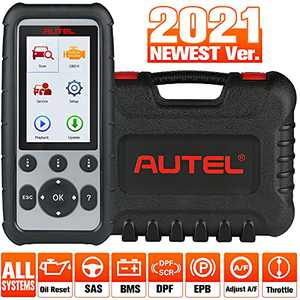 Autel MaxiDiag MD806 Pro, OBD2 Scanner 2021 Newest with All Systems Diagnoses,OBDII Scan Tool Auto VIN/Oil Reset/EPB/SAS/BMS/DPF, with 7 Special Features and Throttle Services