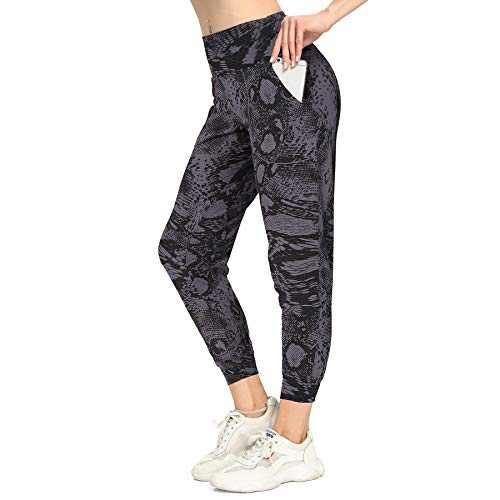 Mesily Women's High Waisted Joggers Sweatpants with Pockets Soft Pants for Yoga Running Lounge