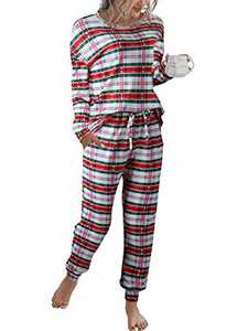 Margrine Matching Family Christmas Pajamas - Matching Christmas PJs for Family Green M19A4-honglvge-XL