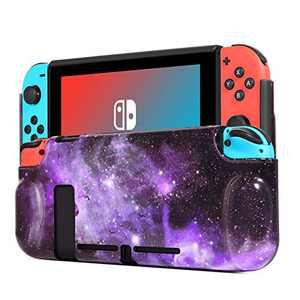 BENTOBEN Compatible with Nintendo Switch Protective Case, Durable Flexible TPU Shock-Absorption Anti-Scratch Drop Protection kids Cover Shell for Nintendo Switch Console & Joy-Con,Nebula/Galaxy Design