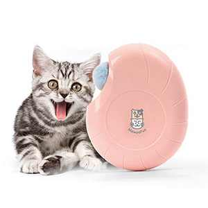 Rolife Interactive Cat Toy Conch Feather Toy for Indoor Cat