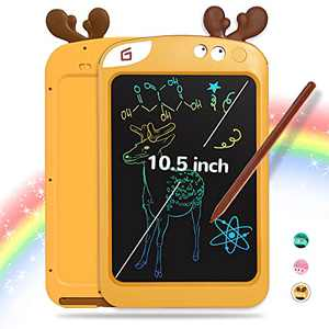 LCD Writing Tablet for Kids, 10.5 inch Kids Drawing Tablet for Toddlers, Erasable Reusable Writing Tablet Toddler Doodle Board with Colorful Screen, Drawing Pads for 3 4 5 6 Year Old Boys and Girls