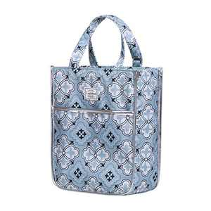 Insulated Reusable Lunch Tote Bag Durable lunch Box Container for Women Adult Men (LD191107-BLUE)