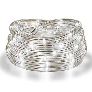 Areful Rope Lights, 16Ft Waterproof Connectable Strip Lighting, 4000K Nature White, Indoor Outdoor Mood Lighting for Home Christmas Holiday Garden Patio Party Decoration