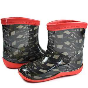 Girls Boys Rain Boots for Toddlers, Baby Kids Raining Boot with Easy-On Lightweight and Comfort Insole, Waterproof Water Shoe of Rainy Brown