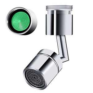 Universal Splash Filter Faucet,720° Rotatable Faucet Sprayer Head, Kitchen Faucet Aerator Sink Movable tap Head Rotatable Filter Nozzle Swivel Water Saver Kitchen Faucet Head (Kitchen Faucet Head)