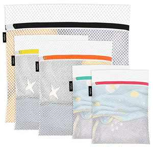 Jonyeu Mesh Laundry Bags for Delicates (Set of 5) - Great for Machine Washing Bag and Garment Bag for Blouse, Hosiery, Underwear, Sweaters - Premium Laundry Bags for Travel Storage Organization