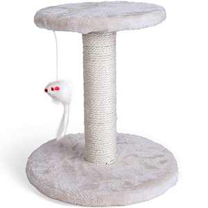 Miroddi Cat Tree Tower with Platform,Scratching Posts for Big and Small Cats