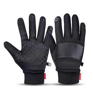BRIGENIUS Winter Gloves for Men Women (L)