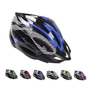 Deyiis Bicycle Helmet, Mountain Bike Bicycle Helmet, Adult Bicycle Helmet, Adjustable Bicycle Helmet with Removable Visor, MTB City Specialized Bicycle Helmet EPS Body + PC Shell Bicycle Helmet for Men Women