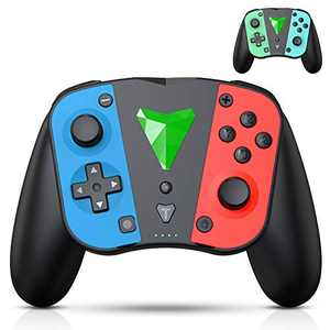 [2021 Upgraded Version] Wireless Controller for Switch/ Switch Lite, RegeMoudal Switch Controller with Wake Up Function, DIY Color Gamepad Joypad Remote Joystick