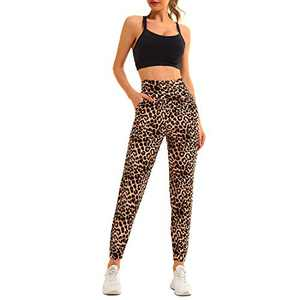 TNNZEET Sweatpants for Women with Pockets – High Waisted Womens Black Yoga Lounge Joggers Workout Pants