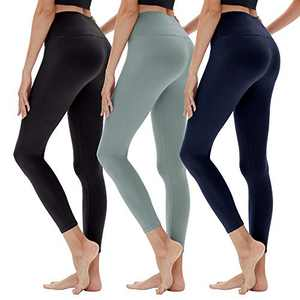 YOLIX High Waitsed Leggings for Women, Super Soft Slim Womens Pants for Yoga Workout Running Athletic